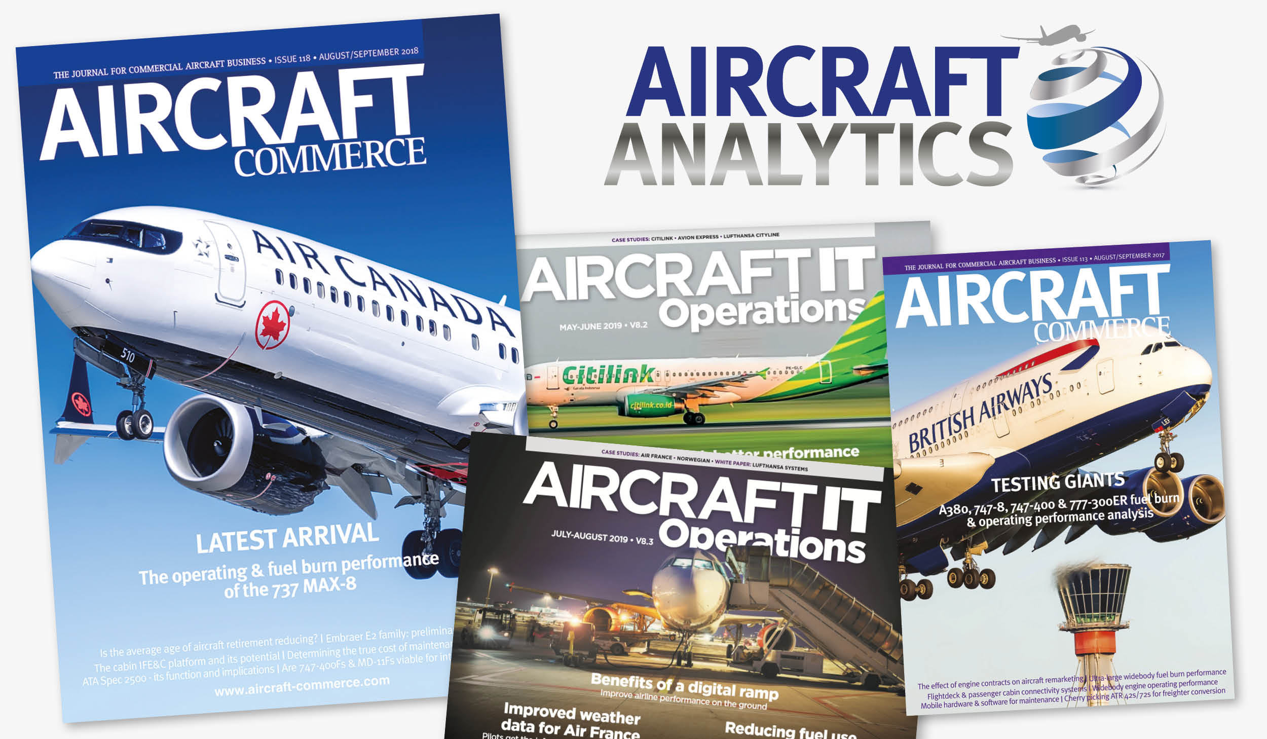 Aircraft Commerce and Aircraft IT launch Aircraft Analytics, a powerful new subscription-based digital resource for the industry