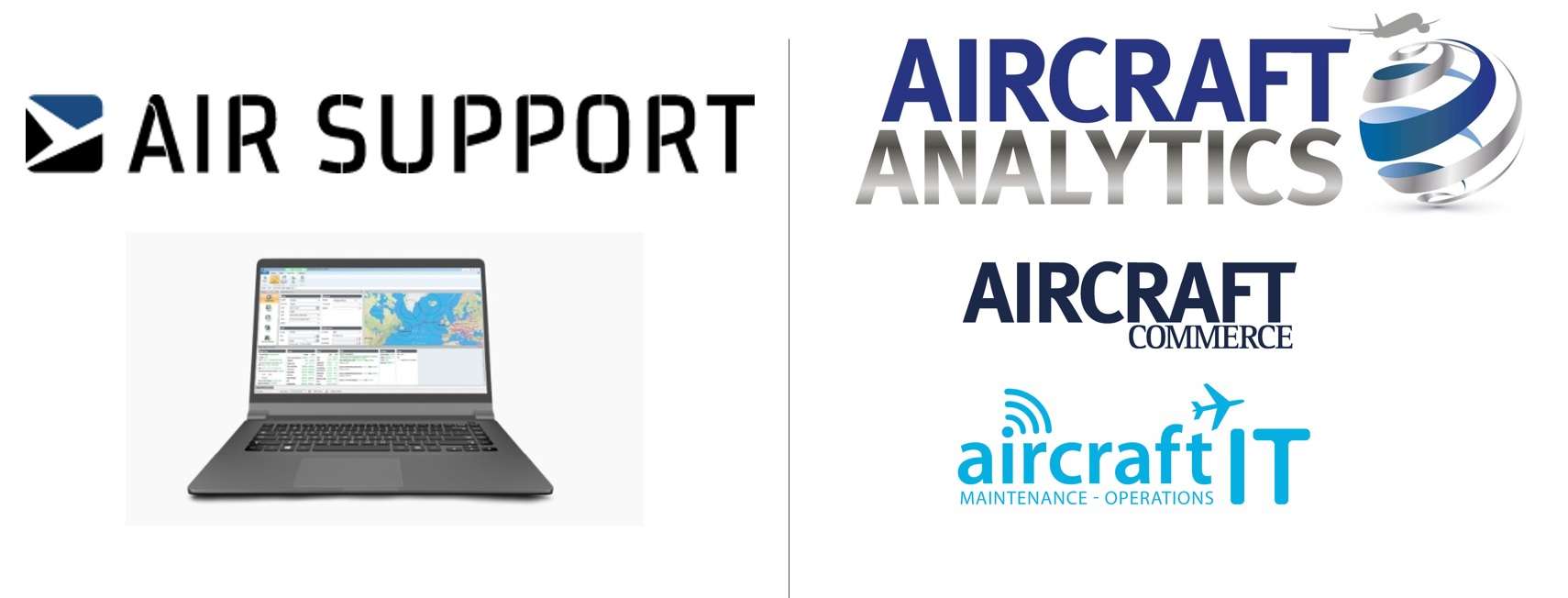 Aircraft Analytics partners with Air Support to use its world-class PPS Flight Planning System (PPS) to power interactive digital aircraft data tools.